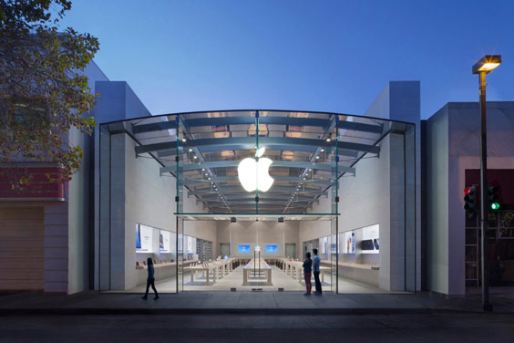 Apple Store Palo Alto is an acoustical nightmare