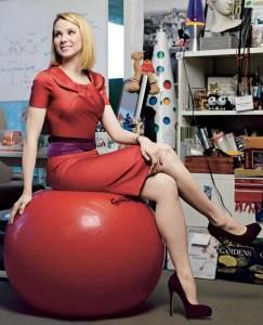 Yahoo CEO Marissa Mayer (photo by Brigitte Lacombe)