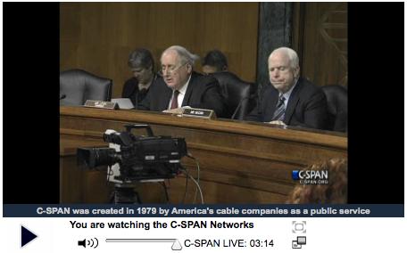 C-SPAN: U.S. Senate hearings on Apple Inc. tax practices