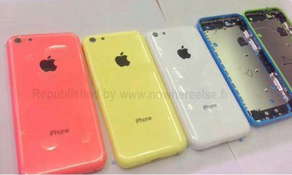 "'iPhone Lite"" casing colors (photo via: Nowhereelse.fr)"