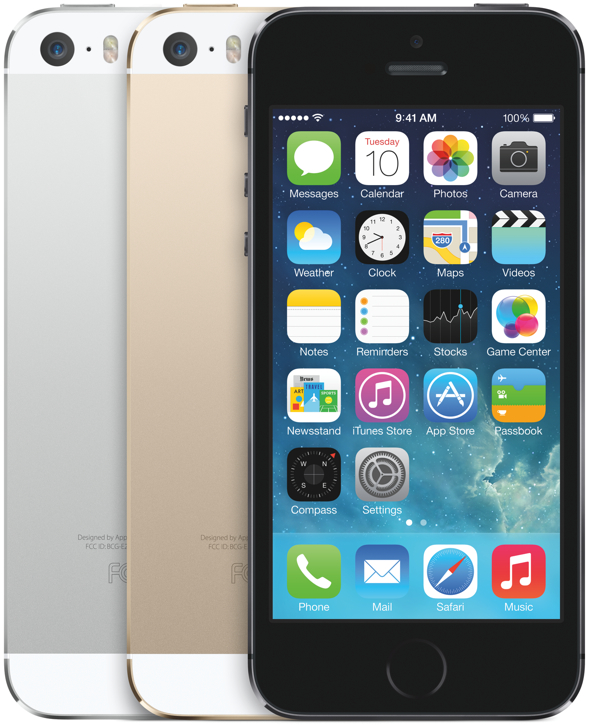 Apple's all-new iPhone 5s