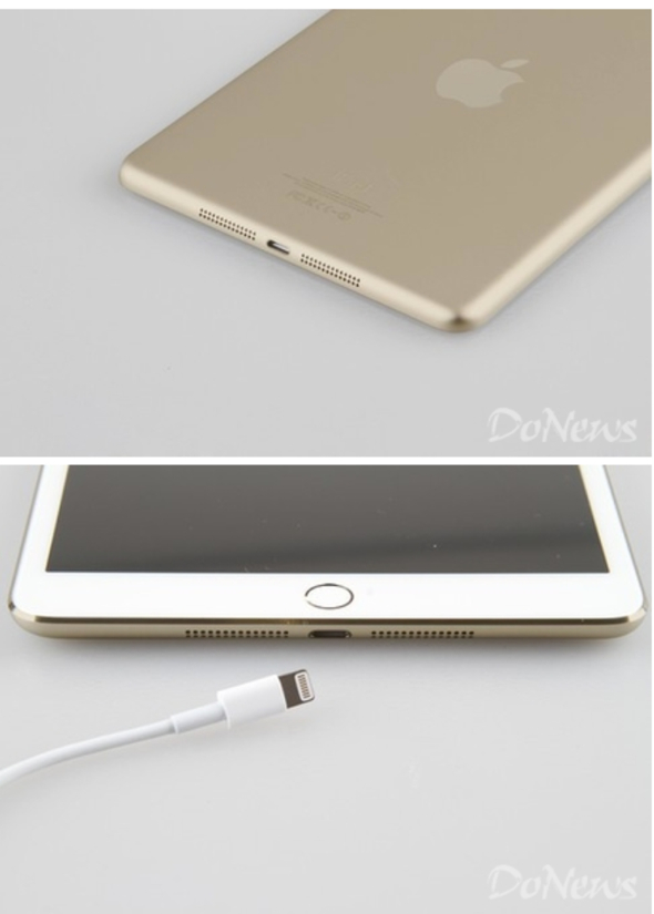 Photo claimed to be of iPad mini (2013) in Gold