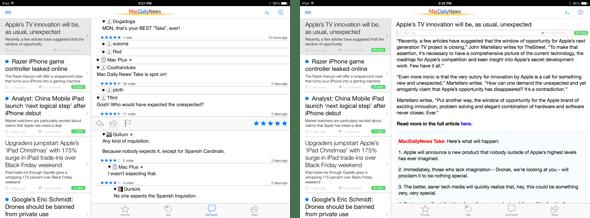 MacDailyNews 3.0 for iPad
