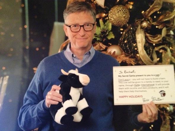 Reddit user Rachel's Secret Santa: Bill Gates