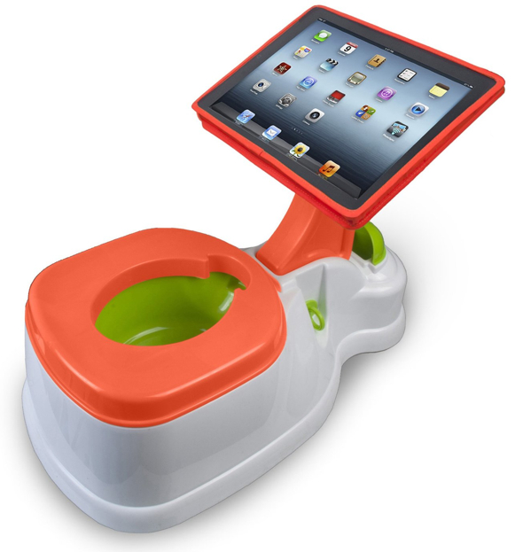 CTA Digital's 2-in-1 iPotty with Activity Seat for iPad