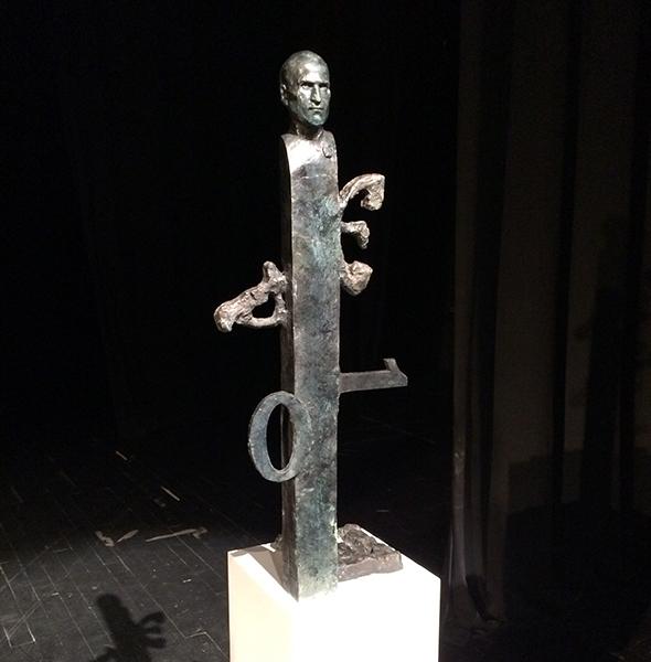 Steve Jobs statue - by Dragan Radenović