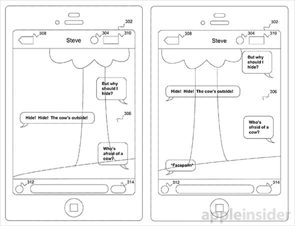 Apple's 'transparent texting' tech