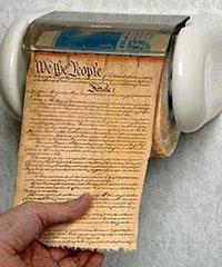 U.S. Constitution toilet paper