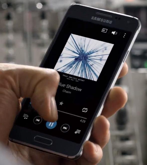 Samsung's Galaxy Alpha
