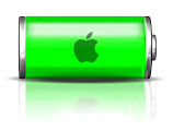 iPhone removable batteries. Image: Apple battery indicator
