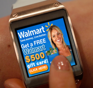 Smartwatch ads are coming