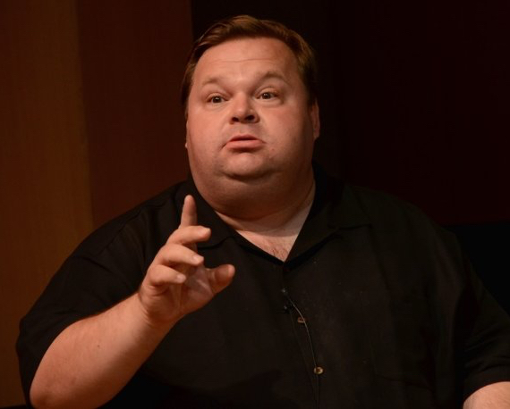 Mike Daisey (Photo: Greg Sandoval/CNET)