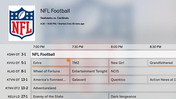 Tablo Apple TV App - Live TV Grid Guide