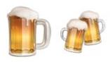iOS 10.2 beer emoji