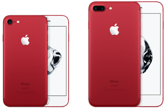 iPhone 7 and iPhone 7 Plus (PRODUCT)RED Special Edition