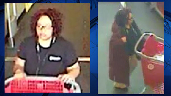 Thief dresses up as Target worker, steals $40,000 worth of