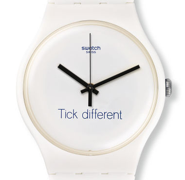 Swatch: Tick different