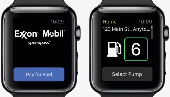 Exxon Mobil Speedpass now lets pay for gas with your Apple Watch