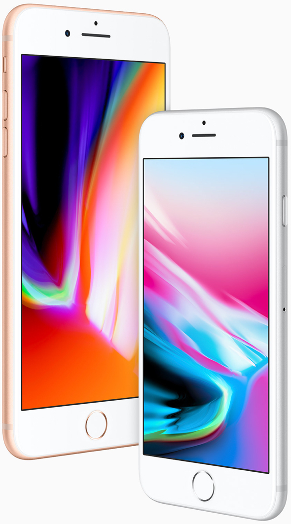 iPhone SE 2 Plus. Image: Apple's iPhone 8 and iPhone 8 Plus, powered by Apple's amazing A11 Bionic chip