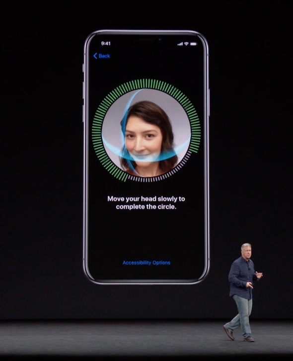 Apple Senior VP, Philip W. Schiller, explains Face ID during Apple's September 12th event