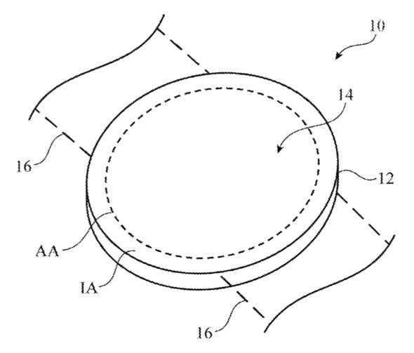Apple's U.S. Patent #: US009965995 illustration