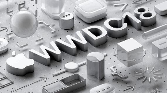 Apple's media invitation illustration for the June 4th WWDC 2018 keynote