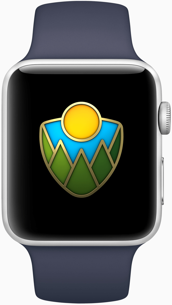 Apple Watch users completing a workout of at least 50 minutes achieve a special Apple Watch award on September 1st.