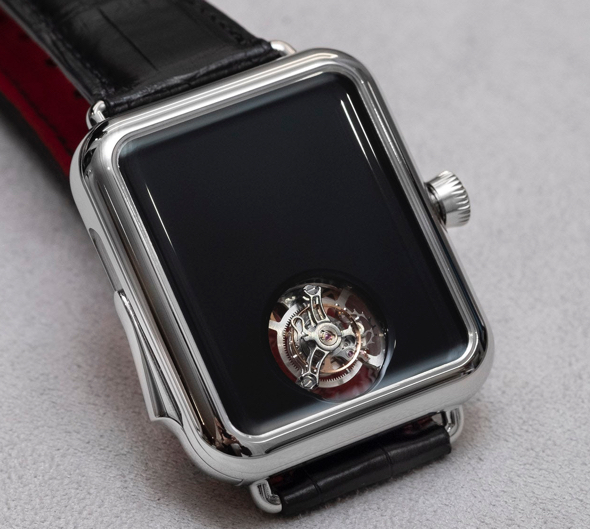 H. Moser's $350,000 Swiss Alp Watch Concept Black