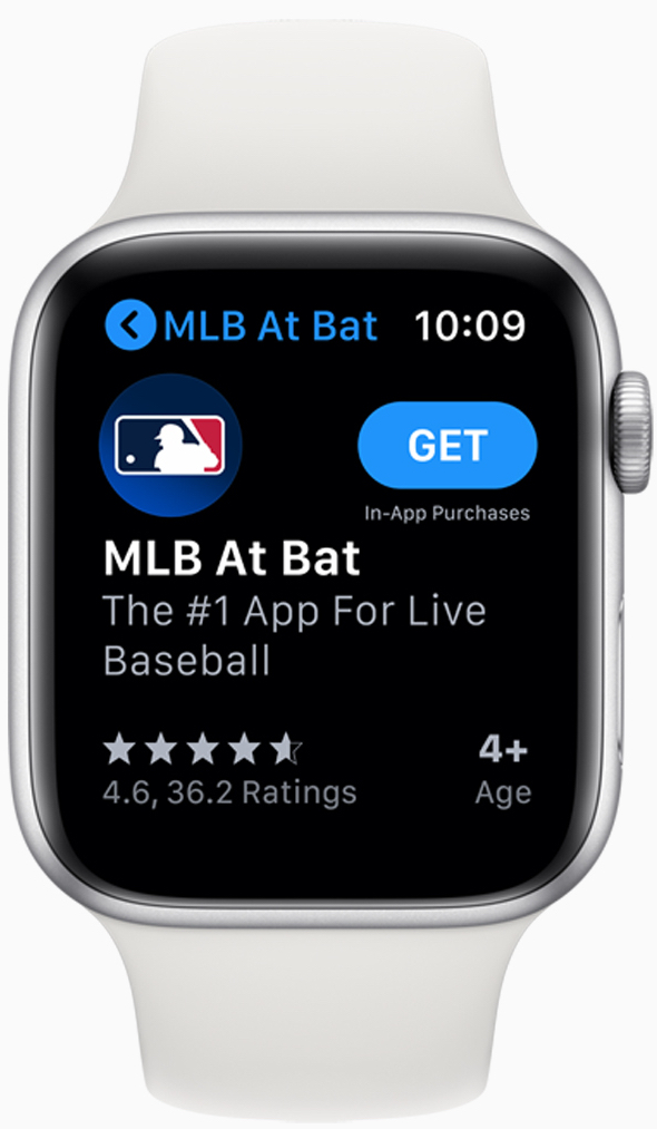 The App Store is now available right on the wrist.