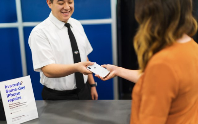 Best Buy stores across the US now provide expert service and repairs for Apple products.