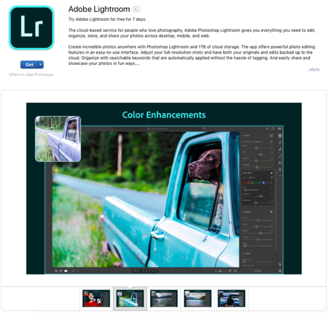 Adobe endorses Mac App Store with Lightroom release