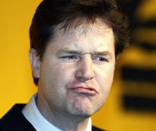Facebook executive Nick Clegg