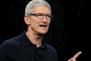 Apple virtual meeting. Image: Apple CEO Tim Cook (Photo: Getty Images)