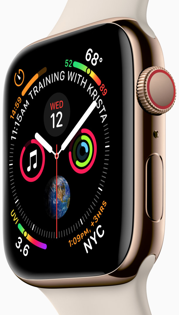 Apple Watch Series 4 is designed and engineered to help you be even more active, healthy, and connected.