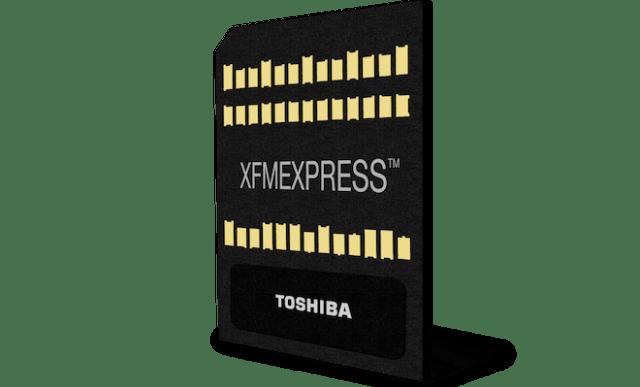 Toshiba XFMEXPRESS NVMe SSD