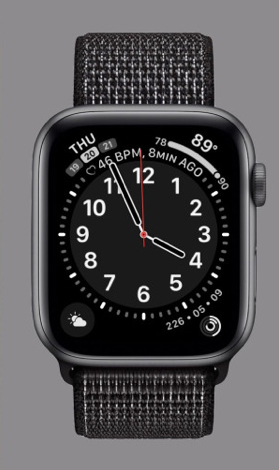 Apple's new California face will be available for Apple Watch Series 4 and higher this fall with the release of the watchOS 6