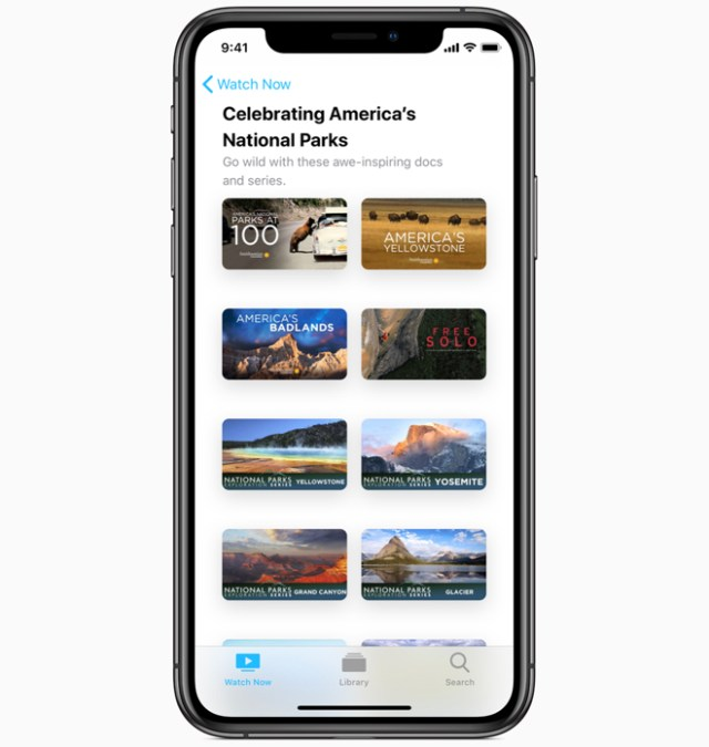 This month, Apple is also encouraging people to celebrate and explore their parks by learning about them through special collections and activities across Apple's services.