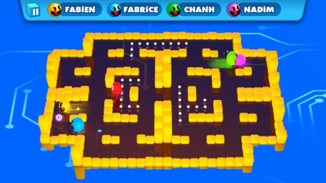 """PAC-MAN PARTY ROYALE"" from Bandai Namco."