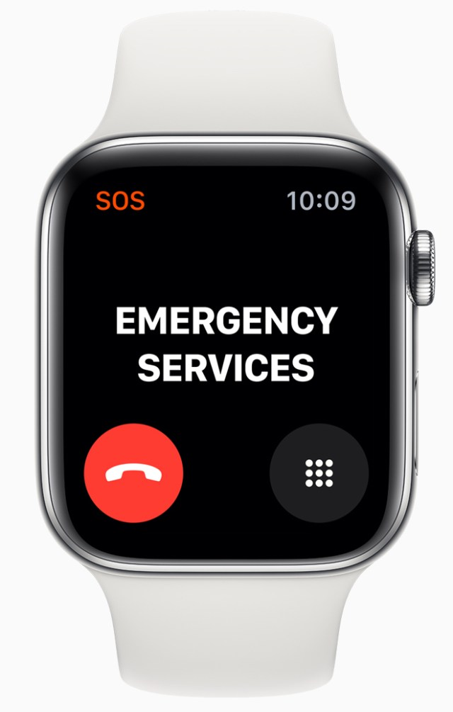Apple Watch Series 5 can now complete calls to emergency services when traveling internationally.