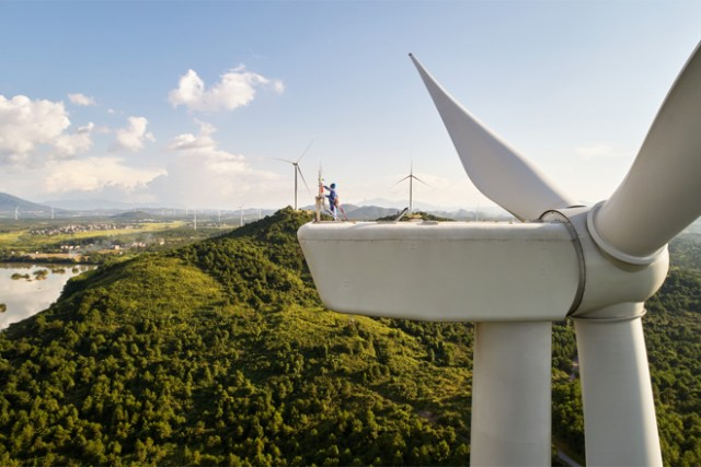 Located in Dao County in Hunan, China, the Concord Jing Tang wind farm was developed by Concord New Energy Group and produces 48 megawatts of clean energy.