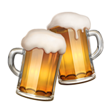 Clinking Beer Mugs