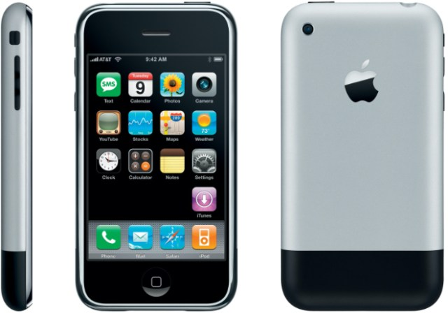Apple Fortune's greatest designs. Image: Apple's revolutionary iPhone