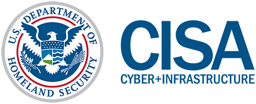 Cybersecurity and Infrastructure Security Agency (CISA) logo