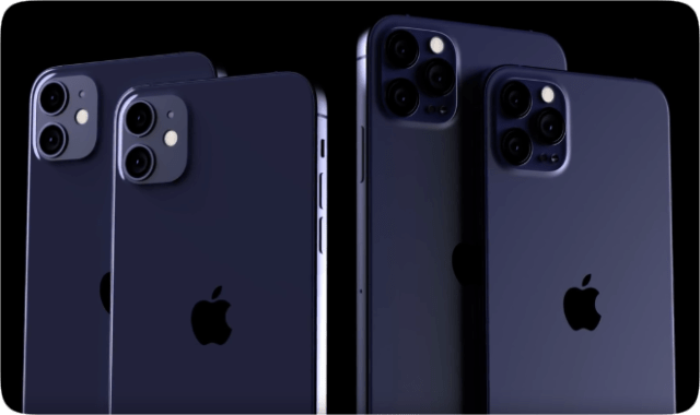 Leaks purport a Navy Blue iPhone 12 Pro