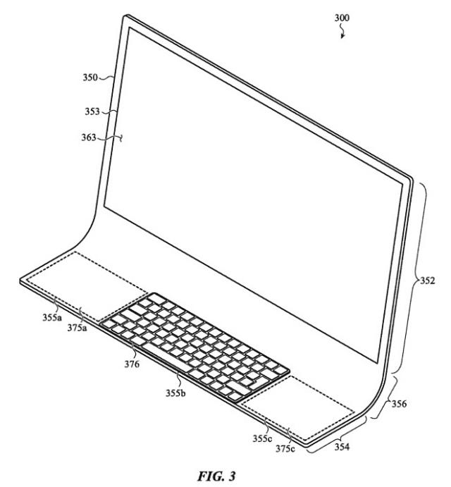 iMac made of single sheet of glass