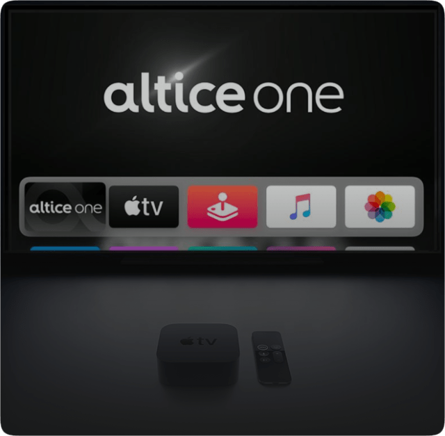 Altice One launches on Apple TV