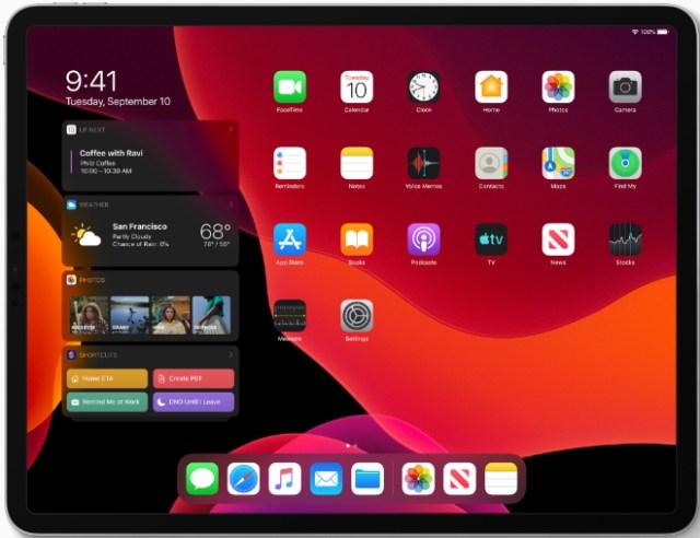 iPad demand in China. Image: Apple's 10.2-inch iPad