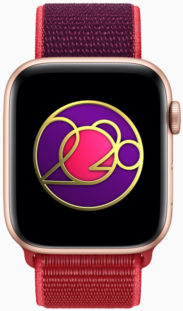 On March 8, Apple Watch users completing a walk, run or wheelchair workout of 20 minutes or more will earn an exclusive Activity award and animated stickers for Messages.