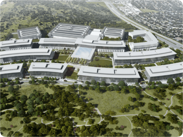 Apple is adding a 192-room hotel to its billion-dollar campus. Rendering courtesy of Apple