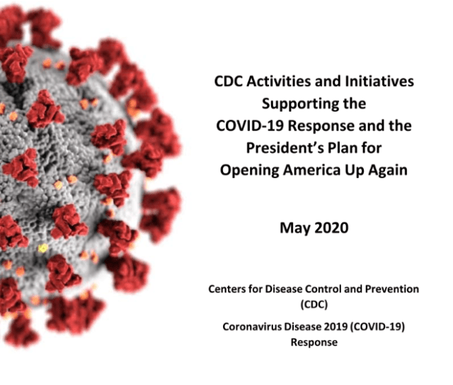 CDC releases detailed guidelines for reopening America
